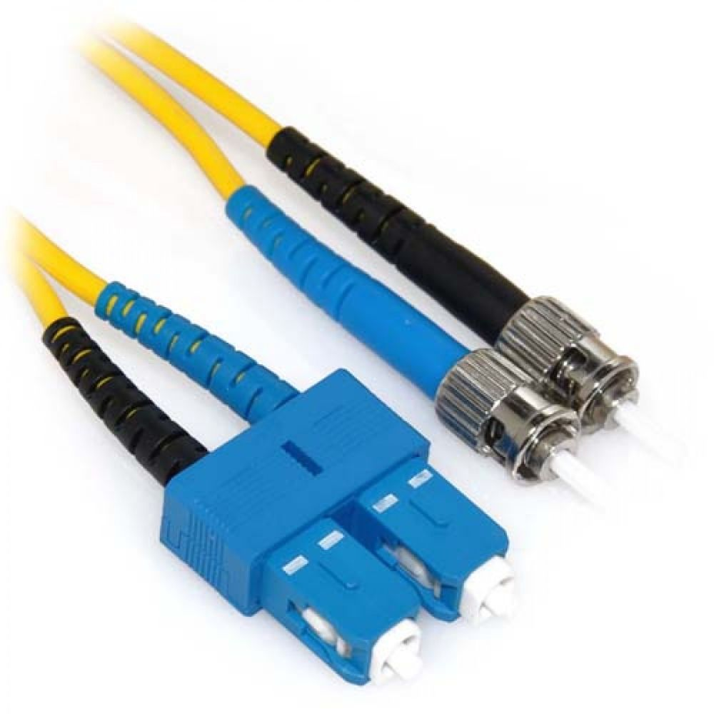 Microlink FC-SC Single-Mode Duplex Fiber Patch Cord 3 Meter