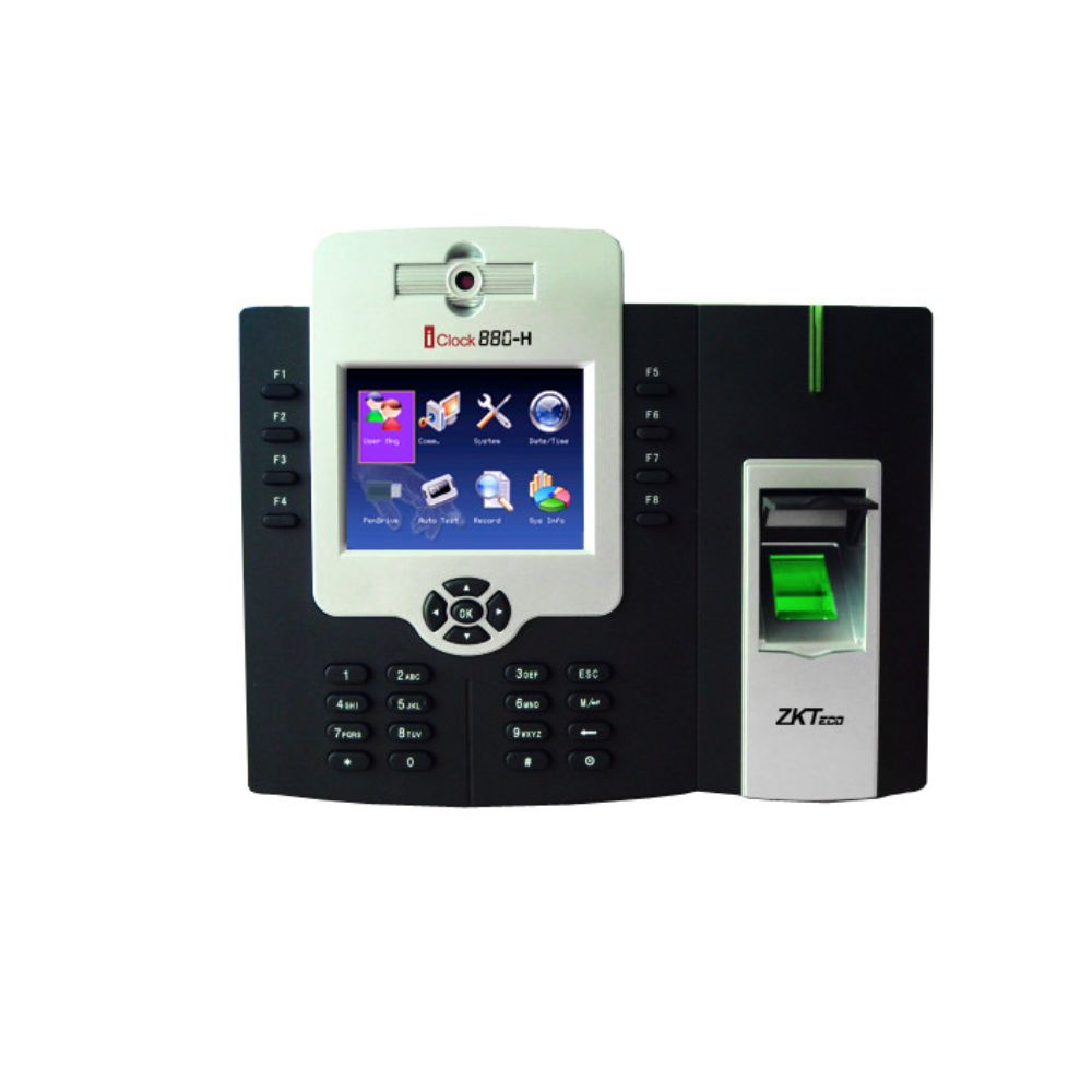 Zkteco iClock880H Time & Attendance Employee Biometric Fingerprint Terminal